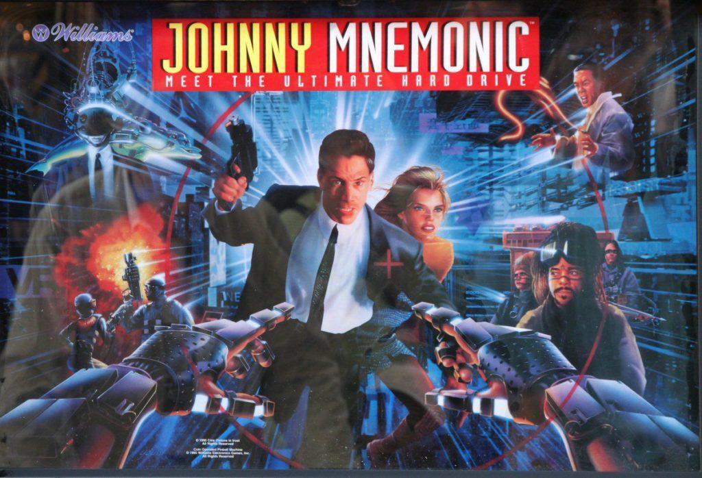 Johnny Mnemonic flipper bérlés