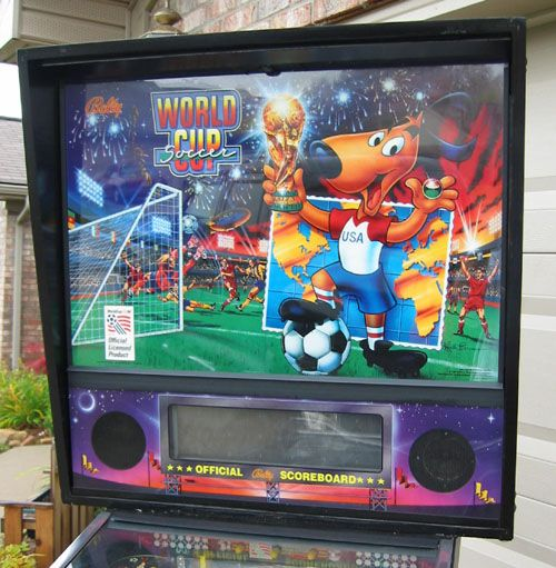 pinball world cup soccer pinball for rent