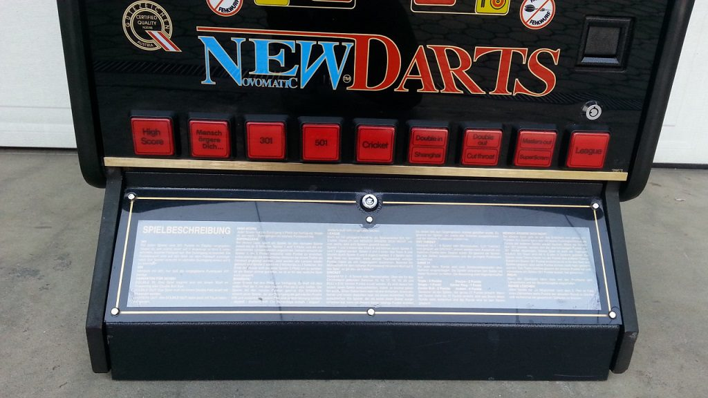 Novomatic darts 6