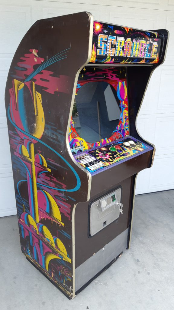 scramble arcade a flipperberles.hu oldalon