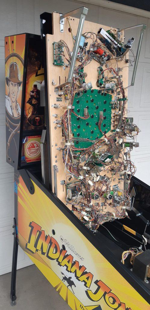 pinball playfield restored
